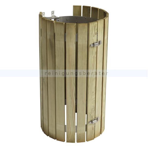 COLLEC Mülleimer Zubehör Rossignol Holzverkleidung Nadelholz 57800