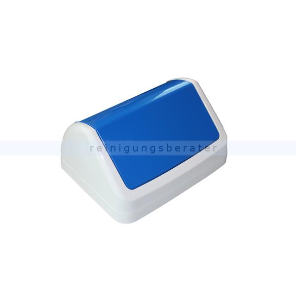 tts schwingdeckel f r max 25 l blau m lleimer zubeh r. Black Bedroom Furniture Sets. Home Design Ideas