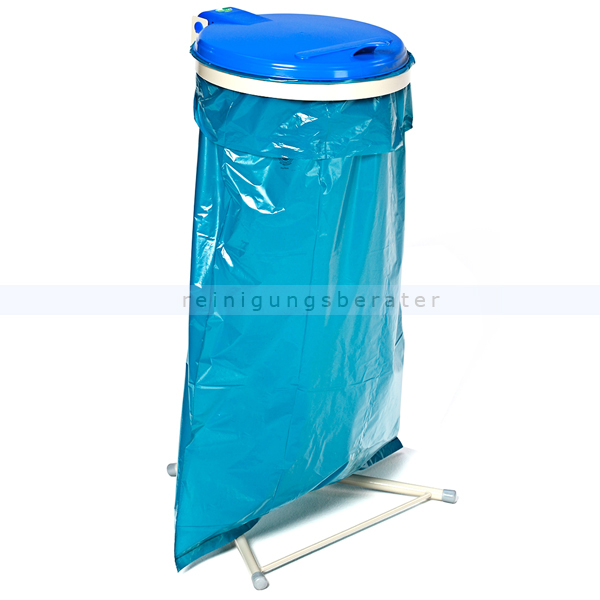 MüllsackständerVAR WS 120 Müllsackhalter stationär blau ideal für 120 L Müllsäcke, robuste und stabile Konstruktion 1682