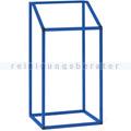 Müllsackständer VAR MSTS 24 Industrie stationär 240 L blau