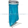 Müllsackständer VAR WS 120 Müllsackhalter stationär silber