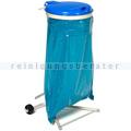 Müllsackständer VAR WSR 120 Müllsackhalter fahrbar blau
