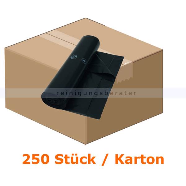 Müllsäcke 140 L schwarz Premium 250 Stück