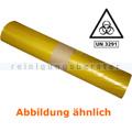Müllsäcke Deiss 93200 gelb 120 L ca. 80 my, 25 Stück/Rolle