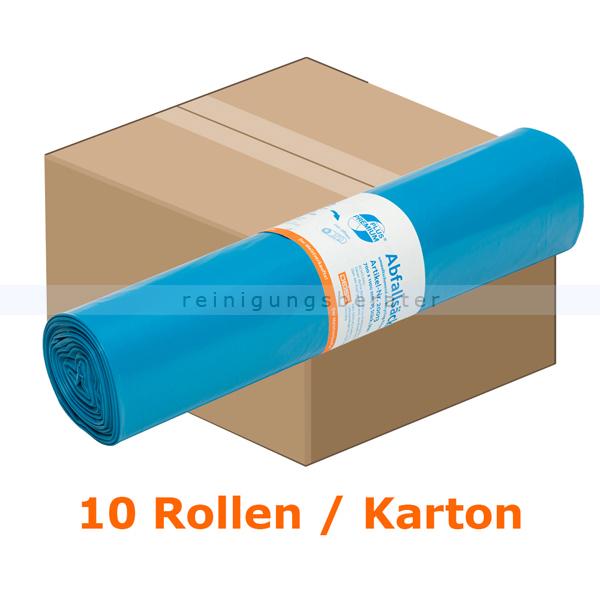 Emil Deiss 20013 PREMIUM PLUS Beutel 120L Typ 60 blau Karton 25 Stück/Rolle Recycling-LDPE 700x1100 mm Der Meistverkaufte