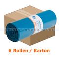 Müllsäcke Deiss PREMIUM 120 L 10002 blau 6 x 25 Stück/Rolle