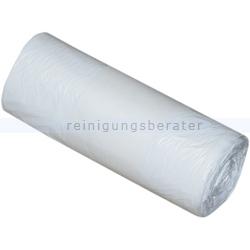 Müllsäcke für Drahtkorb weiß 90 L 6 my, 40 Stück/Rolle