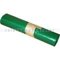 Müllsäcke grün 70 L 35 my (Typ 60) , 25 Stück/Rolle