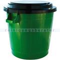 Mülltonne Bekaform Universaltonne grün-schwarz 70 L