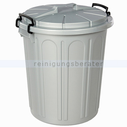 Mülltonne Bekaform Universaltonne silber 23 L