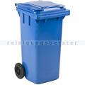Mülltonne ESE Kunststoff 120 L blau