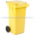 Mülltonne ESE Kunststoff 120 L gelb