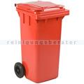 Mülltonne ESE Kunststoff 120 L rot