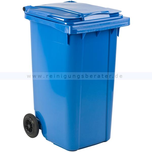 Mülltonne ESE Kunststoff 240 L blau