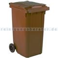 Mülltonne ESE Kunststoff 240 L braun