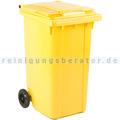 Mülltonne ESE Kunststoff 240 L gelb