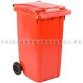Mülltonne ESE Kunststoff 240 L rot