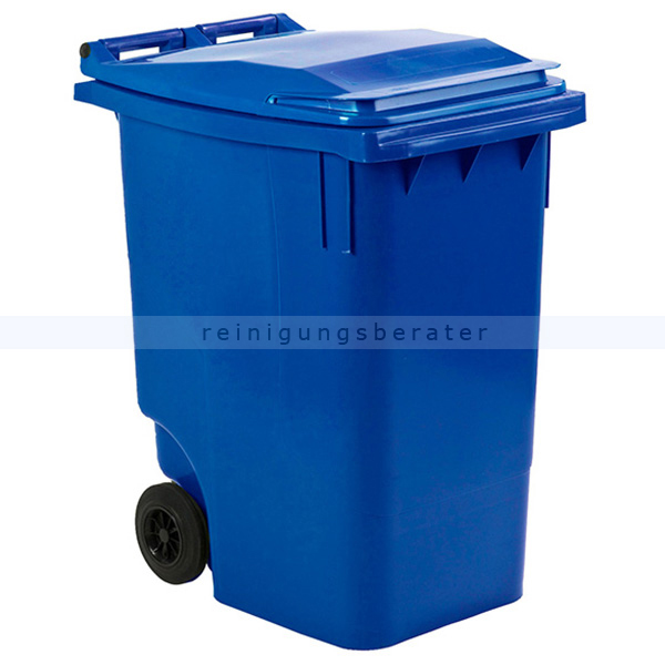 Mülltonne ESE Mini Container 360 L Blau mobiler Abfallbehälter 31011063
