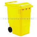Mülltonne ESE Mini Container 360 L Gelb