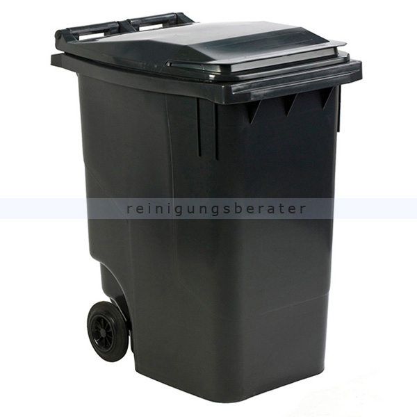 Mülltonne ESE Mini Container 360 L Grau mobiler Abfallbehälter 31007783