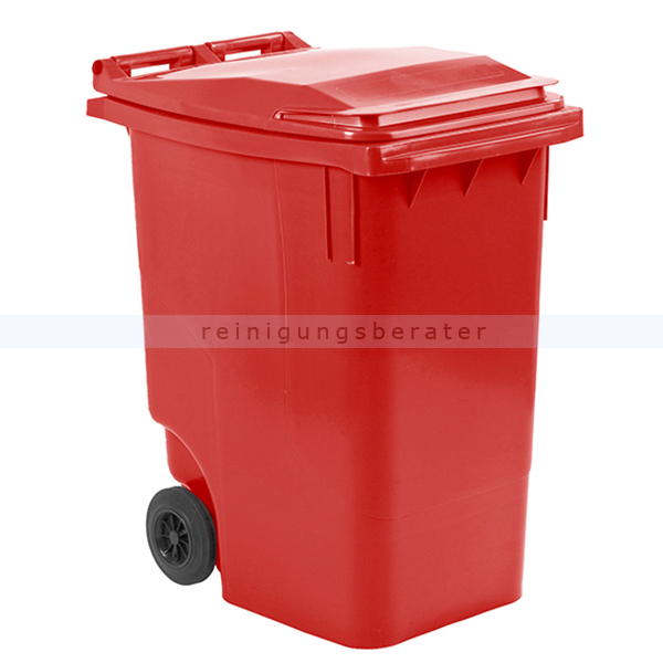Mülltonne ESE Mini Container 360 L Rot mobiler Abfallbehälter 31033775