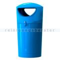 Mülltonne Metro Hooded Müllbehälter 100 L blau