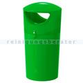 Mülltonne Metro Hooded Müllbehälter 100 L limone