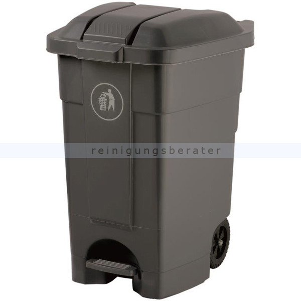 Mülltonne Orgavente Contibasic fahrbar 70 L grau