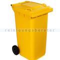 Mülltonne Orgavente CONTIVIA 2 mobil gelb 240 L