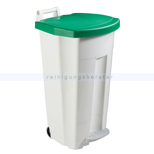 Mülltonne Rossignol Fahrbarer Abfallbehälter BOOGY 90 l grün