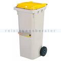 Mülltonne Rossignol Korok 120 L Kunststoff mit Schiene