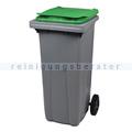 Mülltonne Rossignol Korok 240 L Kunstoff dunkelgrau/grün
