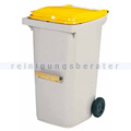 Mülltonne Rossignol Korok 240 L Kunststoff 2 Räder & Schiene