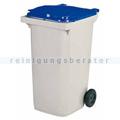 Mülltonne Rossignol Korok 240 L Kunststoff dunkelgrau/blau