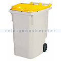 Mülltonne Rossignol Korok 340 L Kunststoff grau/gelb