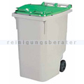 Mülltonne Rossignol Korok 340 L Kunststoff grau/grün