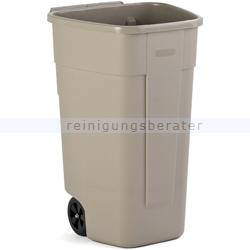 Mülltonne Rubbermaid Big wheel Container 100 L beige