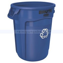 Mülltonne Rubbermaid Brute Container 121 L blau
