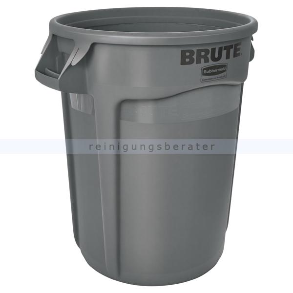 Mülltonne Rubbermaid Brute Container 121 L grau