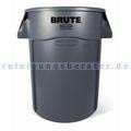 Mülltonne Rubbermaid Brute Utility rund 166,5 L Grau