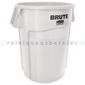 Mülltonne Rubbermaid Brute Utility rund 166,5 L Weiß