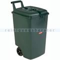 Mülltonne Rubbermaid mobil 90 L grün