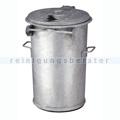 Mülltonne stahlverzinkter Abfallbehälter 110 L verzinkt