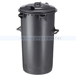 Mülltonne Sulo aus Kunststoff 110 L Dunkel-Grau