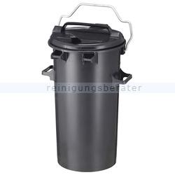 Mülltonne Sulo aus Kunststoff 50 L Dunkel-Grau