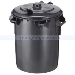 Mülltonne Sulo aus Kunststoff 70 L Dunkel-Grau