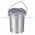 Mülltonne Sulo stahlverzinkter Abfallbehälter 35 L verzinkt