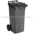 Mülltonne VAR Kunststoff Müllbehälter 120 L grau