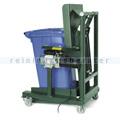 Mülltonnenkipper elektrisch-hydraulisch Grün