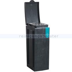 Mülltrennsystem BonTon Bechersammler 70 L grau